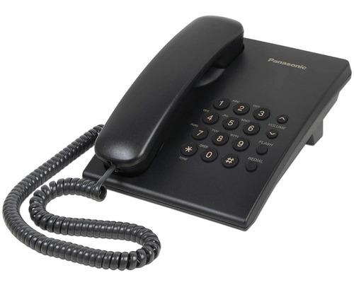 Imagen 1 de 1 de Telefono Panasonic Kxts 500 Negro
