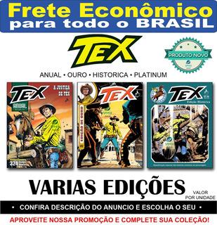 Tex Anual Histórica Ouro Platinum Hq Faroeste Frete R$ 12,00