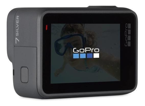 Camara Gopro Hero 7 Silver 4k Tienda Oficial Go Pro Sylver