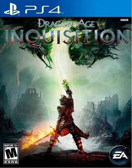 Dragon Age Inquisition - Ps4 Cod 2 Portugues Envio Agora