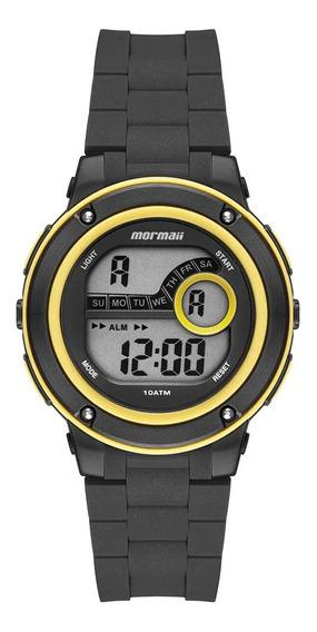 Relógio Mormaii Acqua Masculino Mo8740aa/8y Amarelo