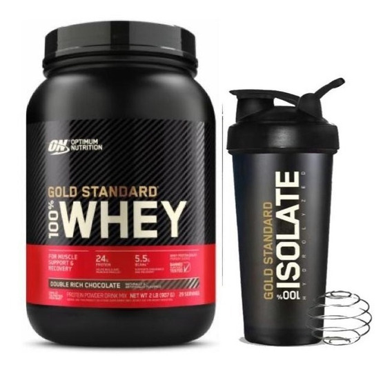 Ns Whey Gold Stand 2lb On Double Choco - L a $59500