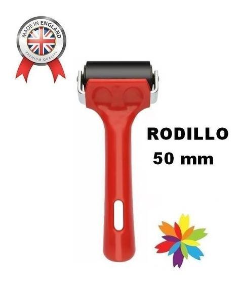 Rodillo Para Grabado Xilografia 50mm Inglaterra Barrio Norte
