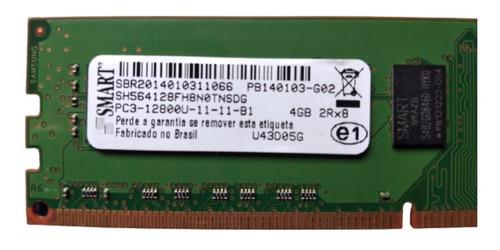 Memória Smart Pc3-12800u-11-11-b1 4gb Sh564128fh8n0tnsdg