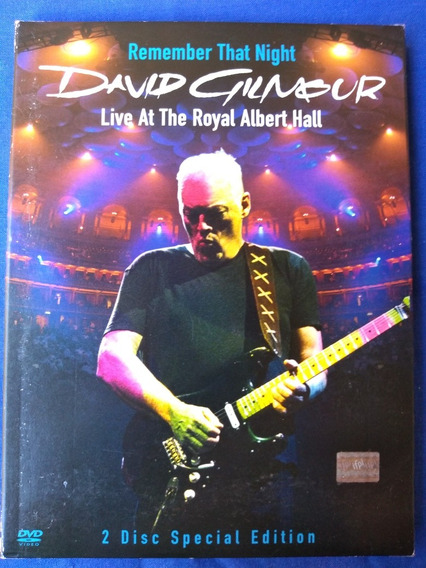 David Gilmour - Live The Royal Albert Hall