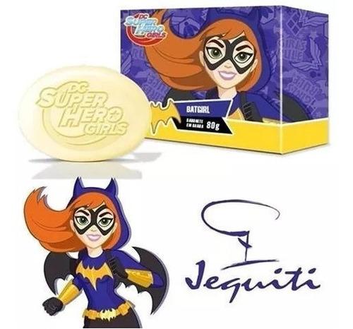 Caixa C/ 2 Sabonetes Em Barra - Batgirl 80g  Jequiti