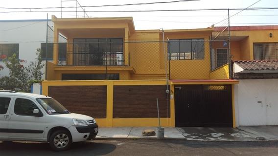 Casa En Renta Claveria Azcapotzalco