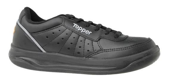 Topper Zapatillas Tenis Hombre X Forcer Negro-gris-naranja