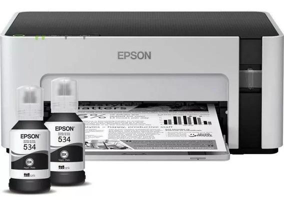 Impressora Epson Mono Ecotank M1120 Ciclo Mensal 15.000pg