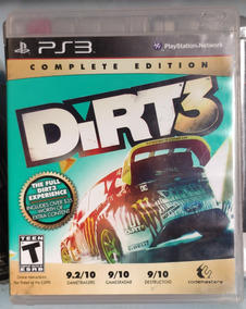 Dirt 3® -ps3 - Mídia Física