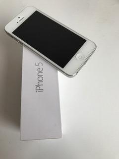 Apple iPhone 5 16gb Prata 1 Ano De Uso Com Nota E Na Caixa