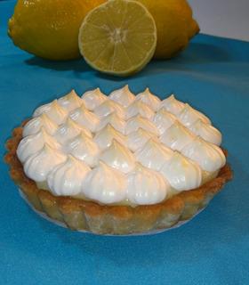 Tarta Individual De Lemon Pie Artesanal