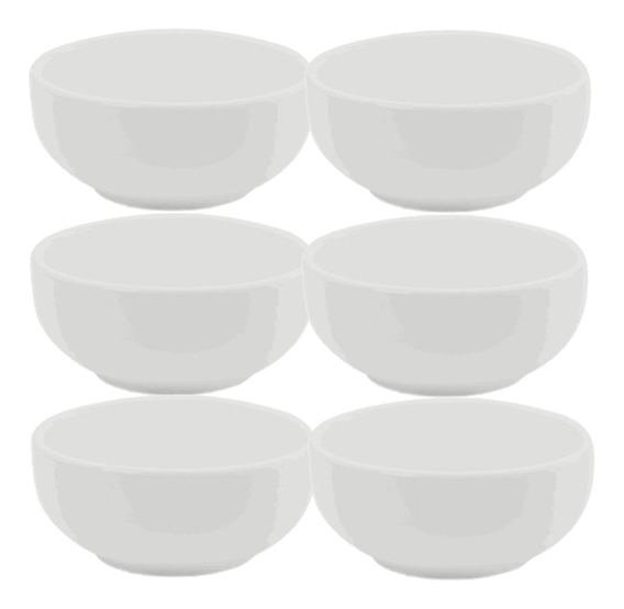 Kit 6 Cumbuca Porcelana 400ml Ref 288