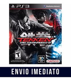 Tekken Tag Tournmant 2 Ps3 Psn Envio Agora