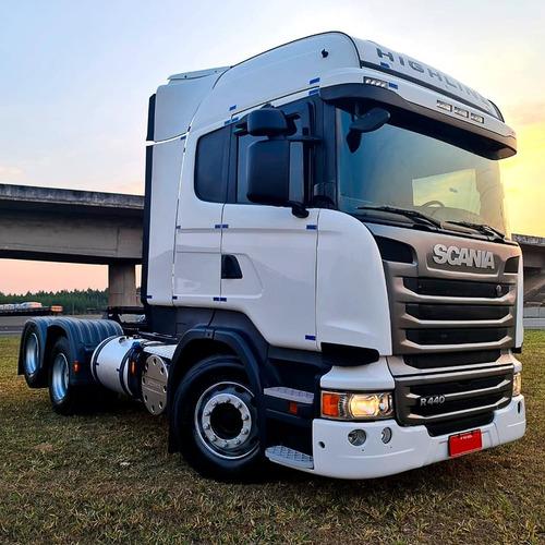 Imagem 1 de 9 de Scania- R440 - Higline - 6x2 - 2018 Oportunidade Única !