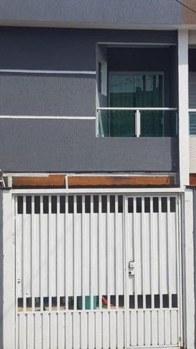 Sobrado Em Vila Cecília Maria, Santo André/sp De 122m² 3 Quartos À Venda Por R$ 458.000,00 - So872264