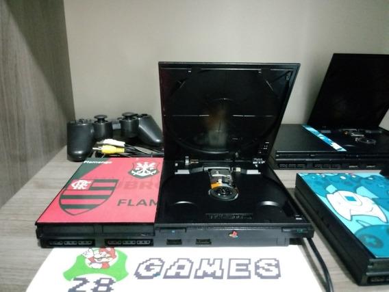 Playstation 2 Ps2 + Controle + Jogos + Av + Garantia