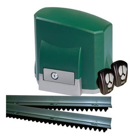 Kit Motor Portão Automático Deslizante Seg 1/4 Central Wave