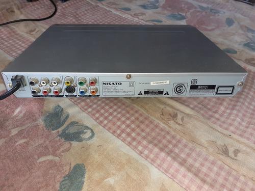 Reproductor De Dvd Nisato Dvz-308, C/remoto, Funcionando