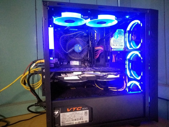 Pc Gamer I3 9100f + 12gb Ram + Gtx 1060 6gb