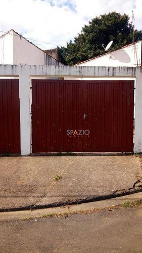 Imagem 1 de 1 de Casa Com 1 Dormitório À Venda, 56 M² Por R$ 148.500 - Jardim Inocoop - Rio Claro/sp - Ca0336
