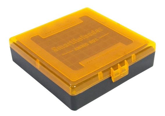 Caixa Smart Reloader P/100 Munições .40/41/45/10mm - Laranja