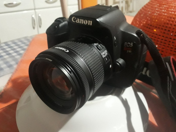 Vendo Ou Troco Câmera Canon T4i Bem Conservada + Lente 18-55
