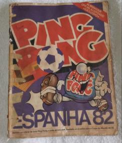 Álbum Completo Da Copa De 1982