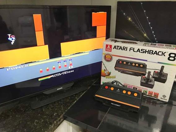 Atari Flashback 8 Sem Os Controles C/ 105 Jogos Na Caixa