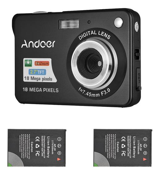 Andoer 18 M 720p Câmera Digital Hd Camcorder Vídeo Com 2 P