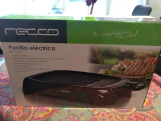 Parrilla Eléctrica Grill Rp-tg01 Recco Sin Uso