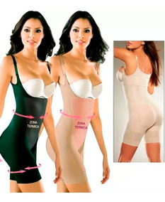 Faja Reductor Short Body Levantacola Enterizo Latex Abdomen