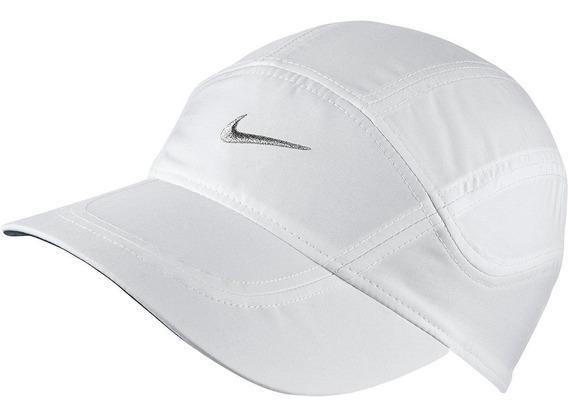 Bone Nike Dry Fit Dri Azul Claro Aba Curva Malhacao Aerobill
