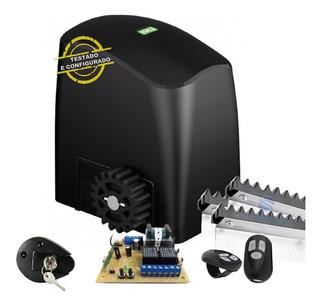 Kit Motor Para Portão Eletrônico Deslizante 1/5 Rcg