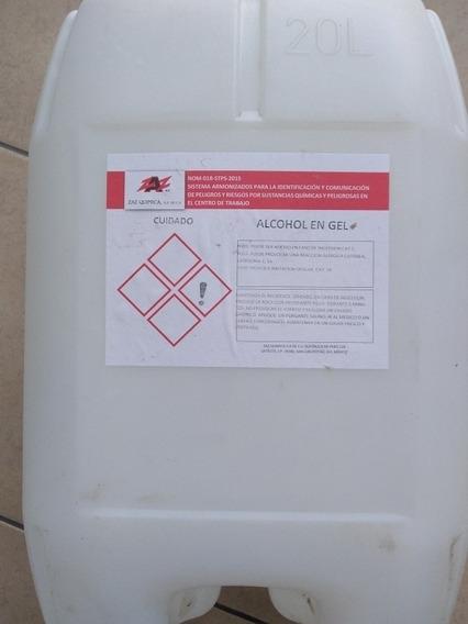 Gel Antibacterial Mayoreo, Alcohol Del 96 2 Galones De 20l