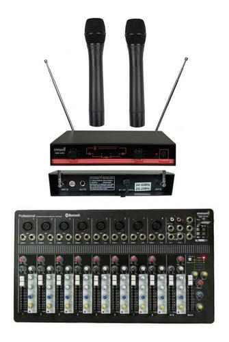 Staraudio Professional 10 Channel Bluetooth Mixer 2ch Siste