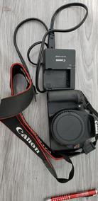 Câmera Canon Eos Rebel T2i E Lente Canon 18-55mm