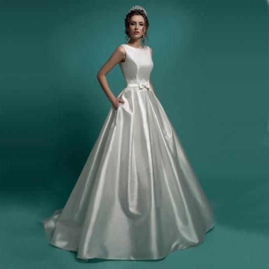 Vestido De Noiva Boho Chic Simples E Bonito Princesa.