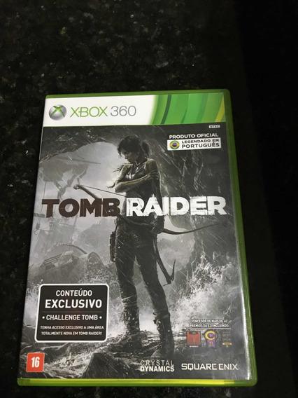 Jogo Xbox 360 Tomb Raider Original Mídia Física