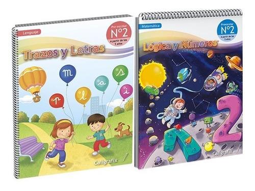 Pack, Trazos Y Letras - Lógica Y Numero Nº2 Caligrafix V2020