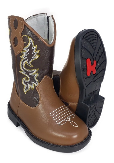 Bota Country Texana Infantil Cowboy Ki-fofo Rodeio Peão 8120