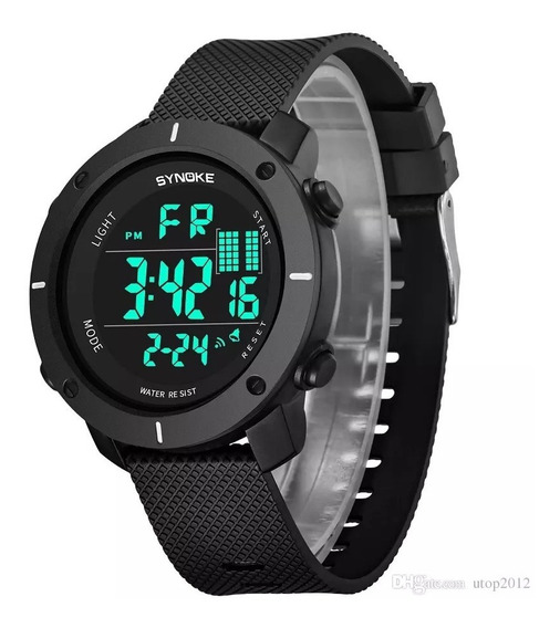 Relógio Masculino Synoke 9658 Digital A Prova D