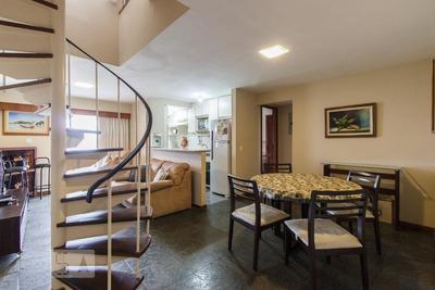 Apartamento No 22º Andar Mobiliado Com 2 Dormitórios E 3 Garagens - Id: 892934652 - 234652