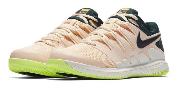 Zapatillas Tenis Nike Mujer Coral Crema Premium