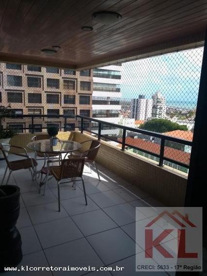 Apartamento Para Venda Em Natal, Petropolis, 4 Dormitórios, 4 Suítes, 5 Banheiros, 3 Vagas - Ka 0210_2-213753