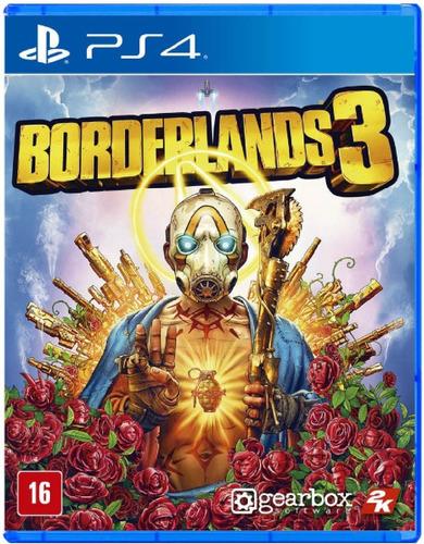 Borderlands 3 Ps4 Mídia Física Novo Pronta Entrega Lacrado