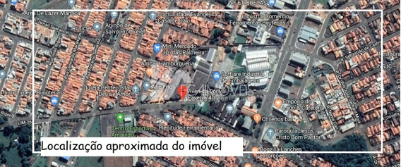 Rua Dorival Faveri, Jardim Do Lago, Limeira - 418884