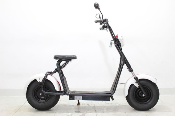 Moto Elétrica Scooter Muuv Beach 3 Branca 2019