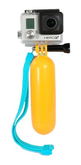 Bastão Hand Grip Flutuante Amarelo P/ Gopro Bobber