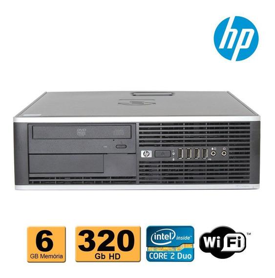 Computador Cpu Hp Ddr3 Core 2 Duo E8400 6gb Hd320gb Wifi